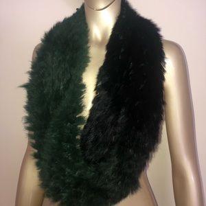 Beautiful soft rabbit fur scarf